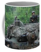 The Leopard 1a5 Main Battle Tank Coffee Mug by Luc De Jaeger