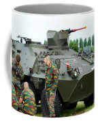 The Pandur 6x6 Family Of Wheeled Coffee Mug