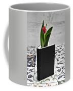 Tulip In A Book Coffee Mug