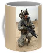 U.s. Army Sergeant Provides Security Coffee Mug