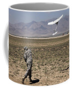 U.s. Army Soldier Launches An Rq-11 Coffee Mug