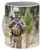 U.s. Army Soldier Stands Guard Coffee Mug