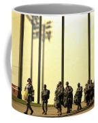 U.s. Army Soldiers Prepare To Board Coffee Mug