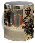 U.s. Army Specialist Provides Security Coffee Mug