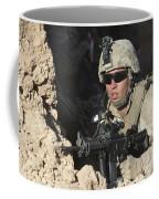 U.s. Marine Provides Security Coffee Mug
