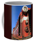 Vintage Diesel Engine Coffee Mug by Yali Shi
