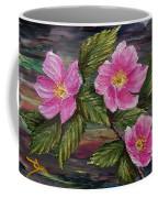 3 Wild Roses Coffee Mug