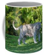 35- White Bengal Tiger Coffee Mug