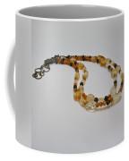 3514 Citrine Double Strand Necklace Coffee Mug