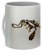 3618 Tigereye And Citrine Necklace Coffee Mug
