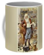 American Christmas Card Coffee Mug