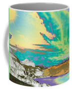 Space Landscape Coffee Mug