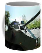 A Belgian Army Piranha IIic Coffee Mug by Luc De Jaeger
