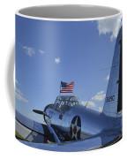 A Bt-13 Valiant Trainer Aircraft Coffee Mug