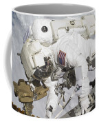 An Astronaut Participates In A Session Coffee Mug