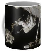 Astronaut Working On The International Coffee Mug