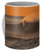 Breaking Surf At Sunset In La Jolla Coffee Mug