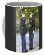 Changing Of Guard At Arlington National Coffee Mug