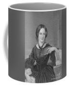 Charlotte Bronte, English Author Coffee Mug by Photo Researchers