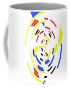 4 Colors Abstract Coffee Mug