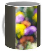 Flower Garden In Sunshine Coffee Mug
