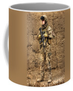 Hdr Image Of A German Army Soldier Coffee Mug by Terry Moore