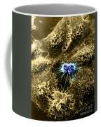 Hela Cells With Adenovirus Coffee Mug