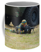 Infantry Soldiers Of The Belgian Army Coffee Mug