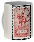 old Australian postage stamp Coffee Mug