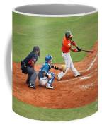 Professional Baseball Game In Taiwan Coffee Mug by Yali Shi