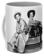 Silent Film Still: Cowboys Coffee Mug