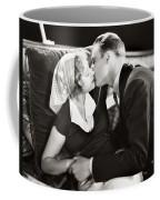 Silent Film Still: Kissing Coffee Mug