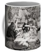 Silent Film Still: Picnic Coffee Mug