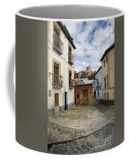 Street In Historic Albaycin In Granada Coffee Mug