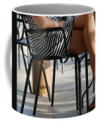 Stripped Dress Coffee Mug