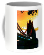 Sunset At Tower Brigde Coffee Mug