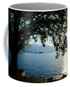 Sunshine Over An Alpine Lake Coffee Mug