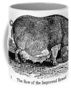 Swine, 19th Century Coffee Mug