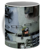 Tank Driver Of A Leopard 1a5 Mbt Coffee Mug by Luc De Jaeger