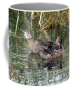 Teal Ducks Coffee Mug