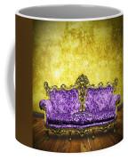 Victorian Sofa In Retro Room Coffee Mug