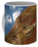 Waves Of Color, Ranging From A Pale Coffee Mug by Annie Griffiths