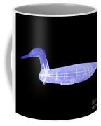 Wooden Duck Decoy Coffee Mug