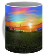 49- Electric Sunrise Coffee Mug