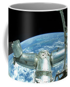 A Portion Of The International Space Coffee Mug