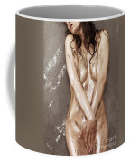Beautiful Soiled Naked Woman's Body Coffee Mug