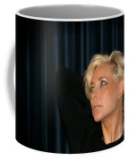 Blond Woman Coffee Mug by Henrik Lehnerer