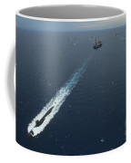 Carrier Strike Group Formation Of Ships Coffee Mug