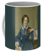 Charlotte Bronte, English Author Coffee Mug by Photo Researchers