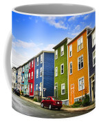 Colorful Houses In St. John's Newfoundland Coffee Mug